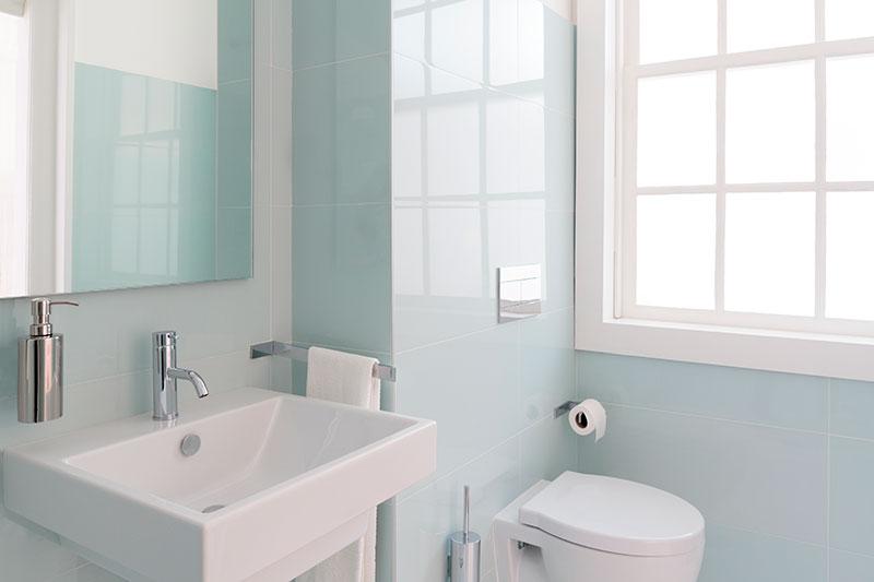 Nieuwe badkamer en sanitair
